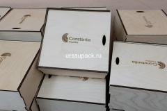 коробка 25*25*10 под алкоголь и подарки