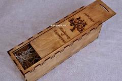 коробка для шампанского на свадьбу
