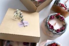 крафт-коробка для свечей
