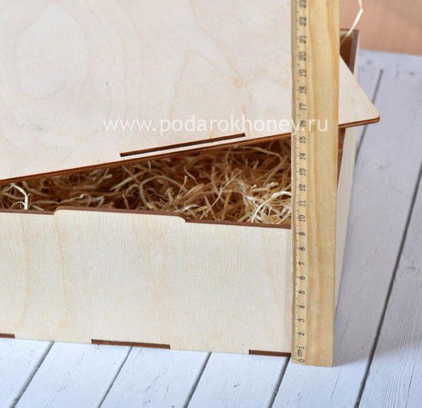 высота коробки из фанеры