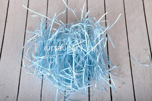 бумажный наполнитель голубой