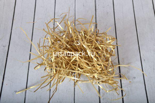 бумажный наполнитель золотой