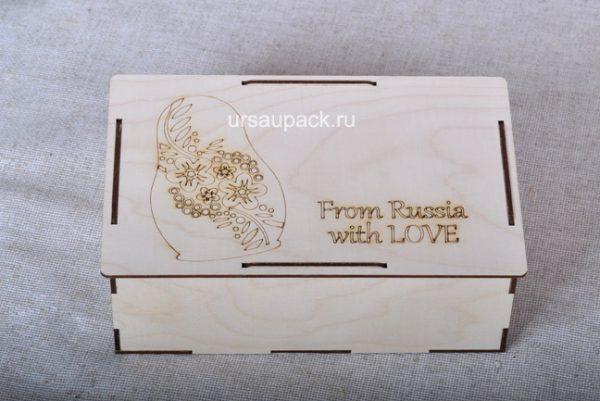 деревянная упаковка для подарков для иностранцев