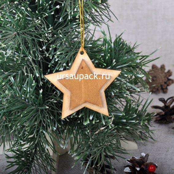 игрушка звезда на Новый год