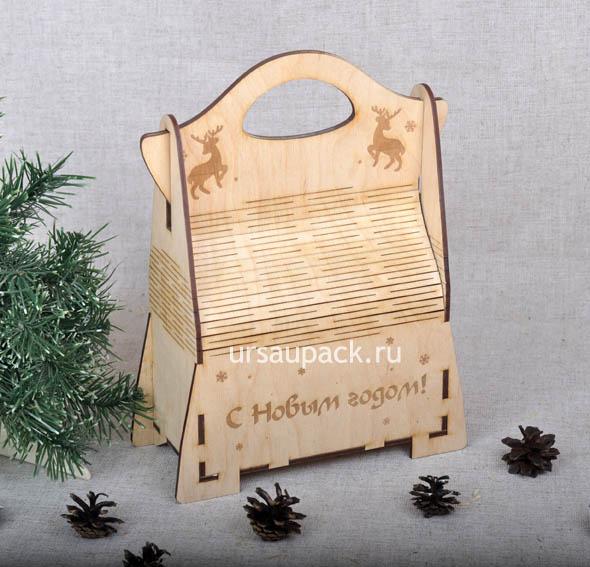 новогодняя сумочка для подарков