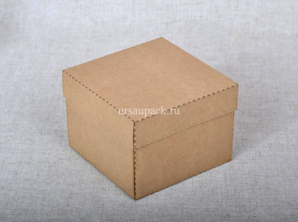 крафт-коробка крышка-дно