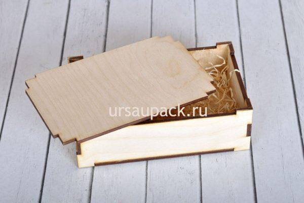 коробка для подарков деревянная