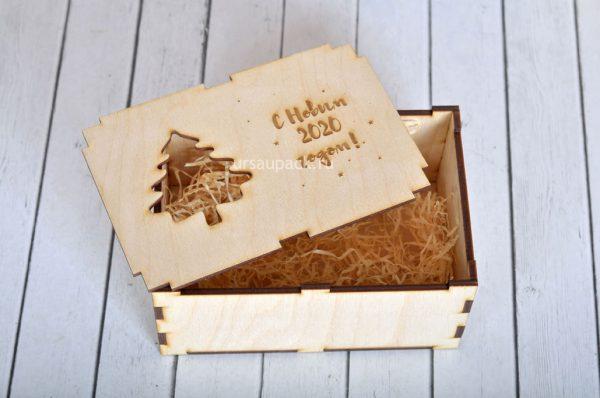 подарочная коробочка на новый год 2020