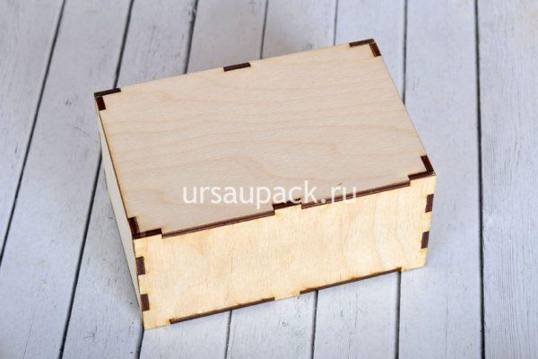 деревянная упаковка для подарка