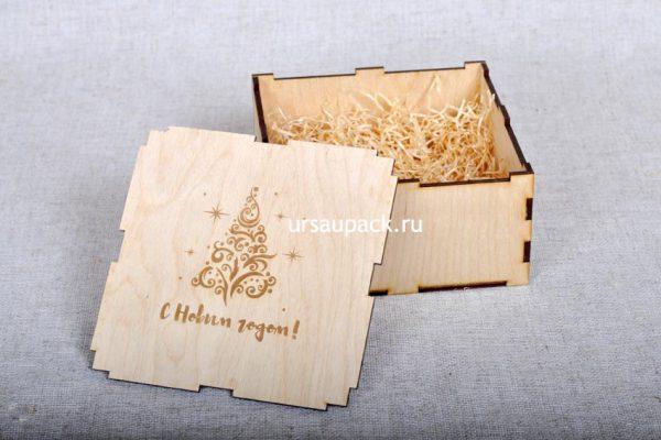 подарочная коробочка на Новый год