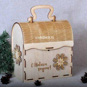 сундук деревянный для подарков