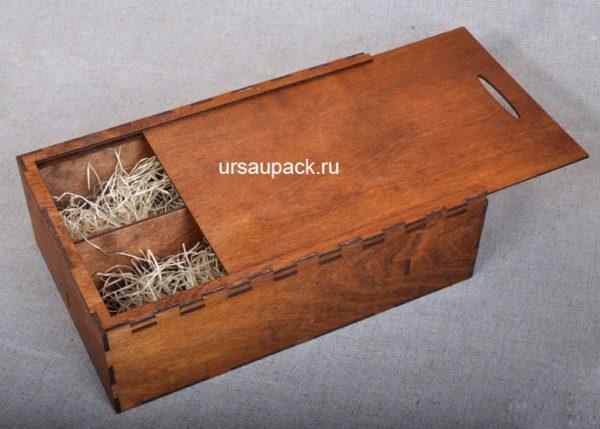 ящик под алкоголь с подарками