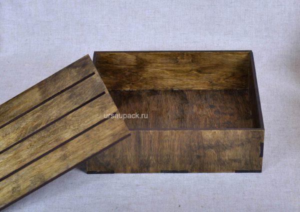 ящик для подарков тонировка