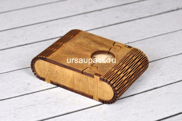 деревянные визитницы