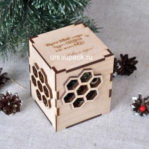 медовая коробка на Новый год