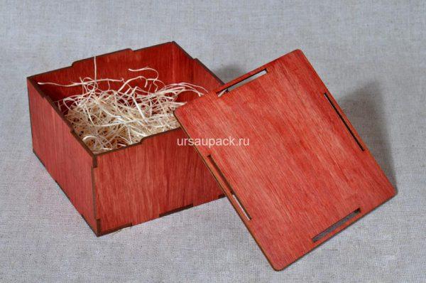 деревянная упаковка для изделий из кожи