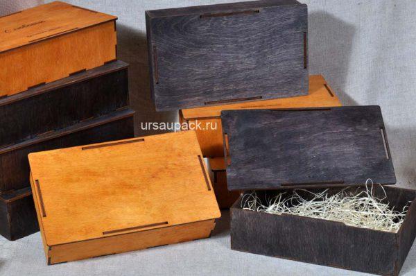 коробка под подарки из кожи