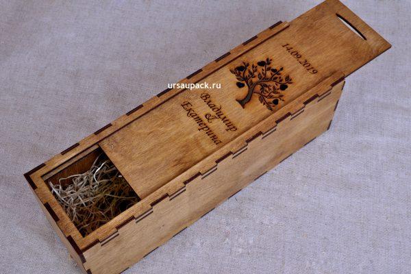 коробка под шампанское на свадьбу