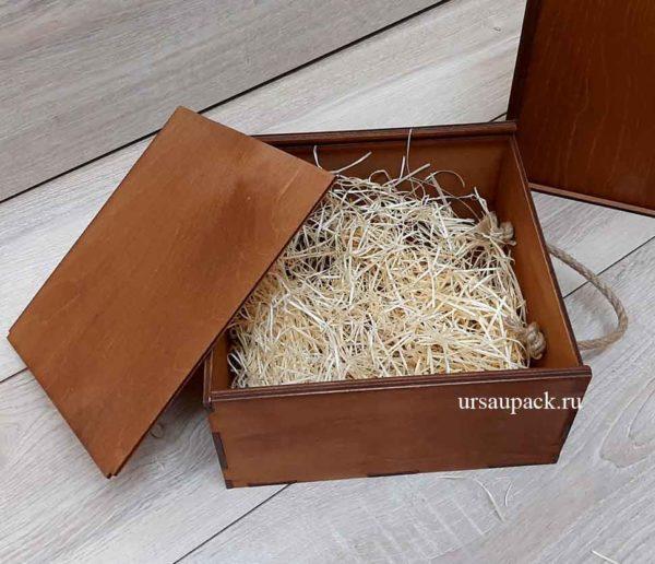 коробка-пенал шоколадный