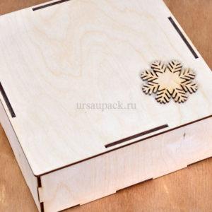 ящик деревянный новый год